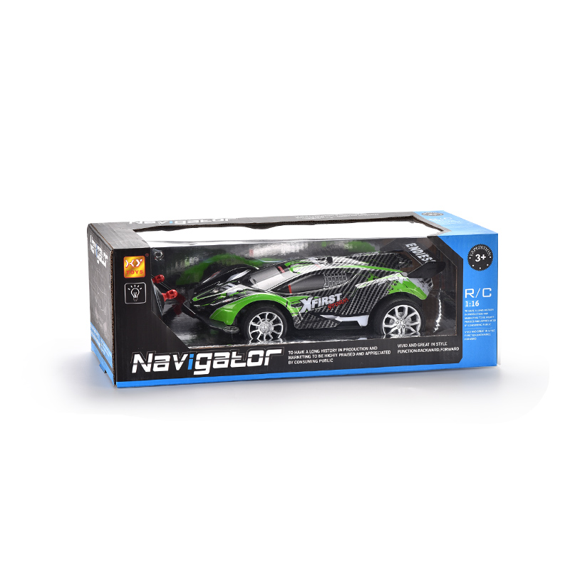 404toys 2 4G remote control car 1:16 four-way mode high-speed off-road vehicle with light toys