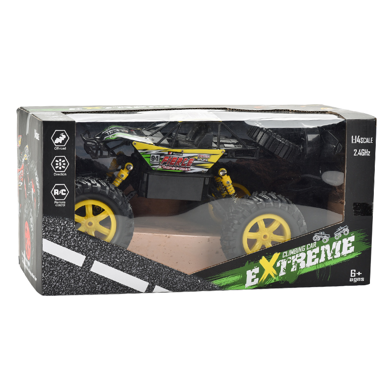 407toys 2 4G Remote control car 1:14 climbing four-way mode high-speed off-road vehicle